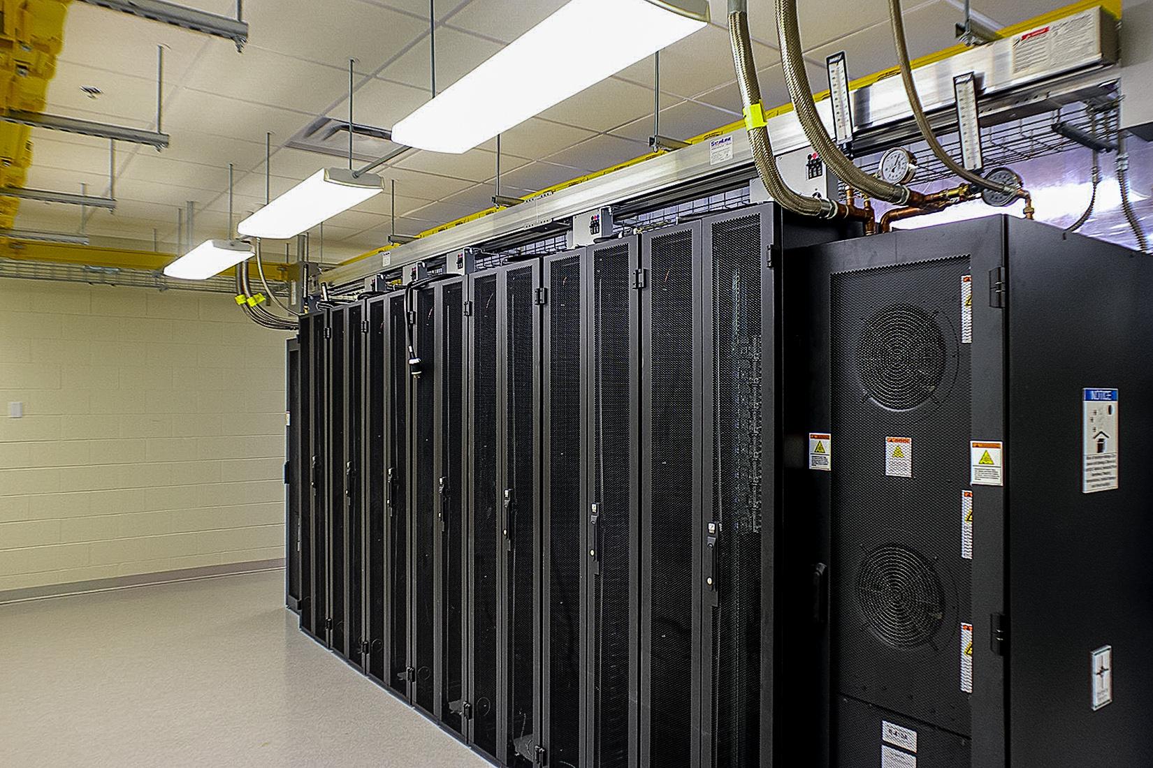Server Room Electrical : Alaska native medical center radiology server room