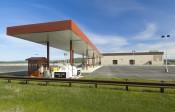 Fueling and Alert-Holding building at Ft. Wainwright, Alaska.