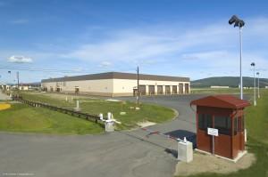 Alert-Holding building at Ft. Wainwright, Alaska.