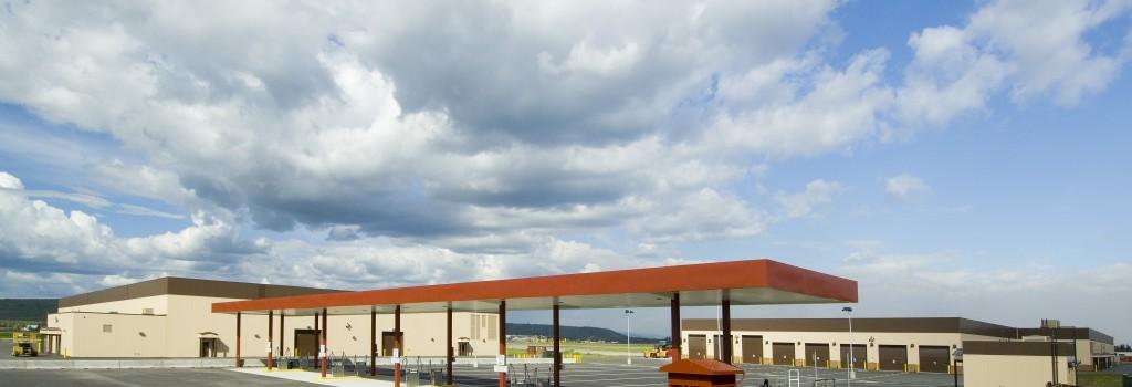 Fueling and Alert-Holding building at Ft. Wainwright, Alaska. Neeser Construction